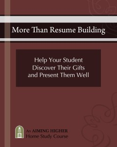 More Than Resume Building Home Study Course